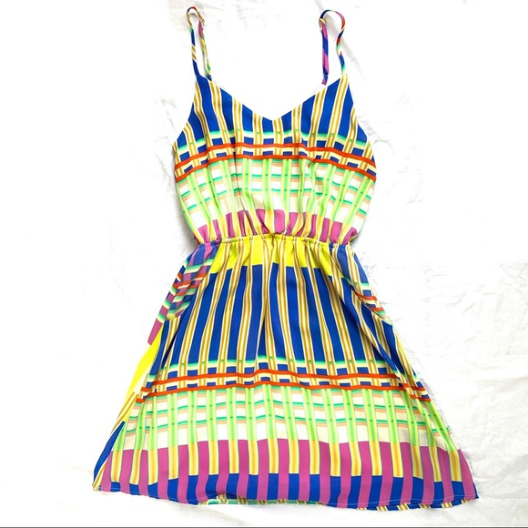 Everly Dresses & Skirts - Everly Multicolored Dress Small